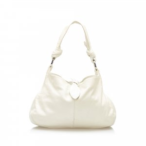 Loewe Shoulder Bag white leather