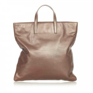 Loewe Tote brown leather