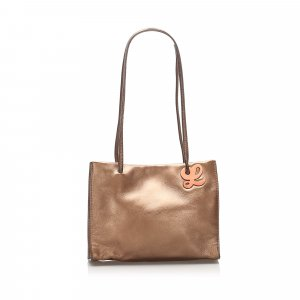 Loewe Mini Leather Tote Bag