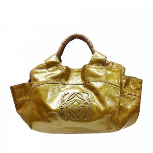 Loewe Handbag gold-colored imitation leather