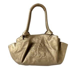 Loewe Handbag gold-colored leather