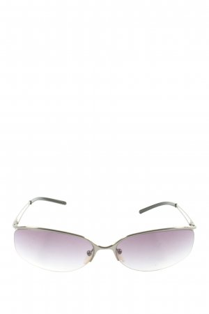 Loewe Oval Sunglasses silver-colored casual look