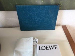 Loewe Bolso tipo pochette petróleo-púrpura