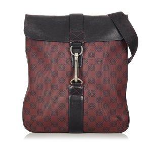 Loewe Crossbody bag brown red leather