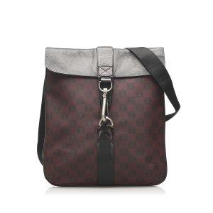 Loewe Printed Anagram Leather Crossbody Bag