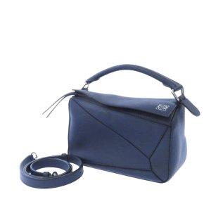 Loewe Satchel blue leather