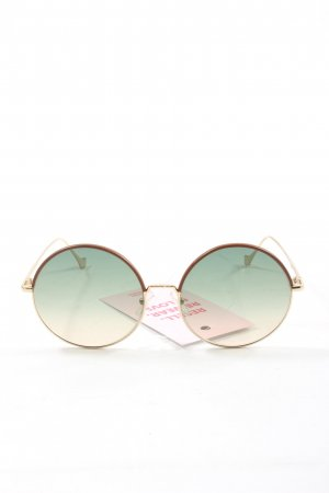 Loewe Round Sunglasses gold-colored casual look