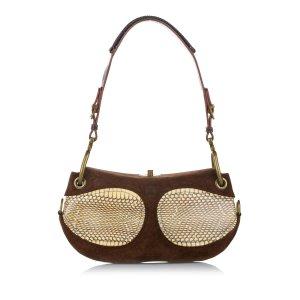 Loewe Suede Shoulder Bag