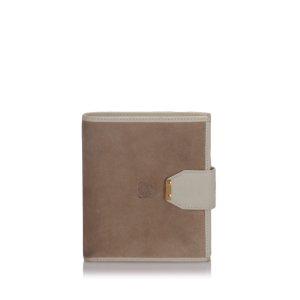 Loewe Suede Small Wallet