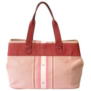 Loewe Sac fourre-tout rosé fibre textile