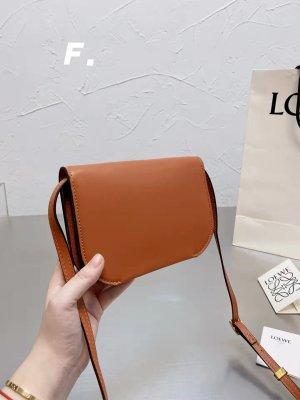 Loewe Borsa con manico arancione scuro