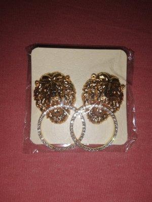 Löwen Ohrringe
