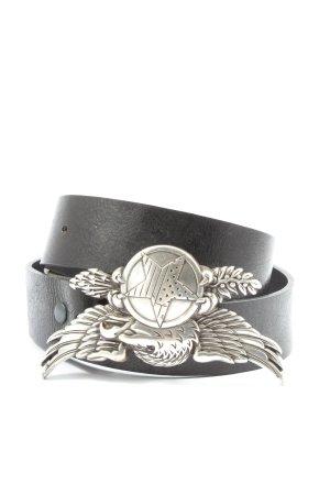 Löwenherz Klamra czarny-srebrny Ekstrawagancki styl