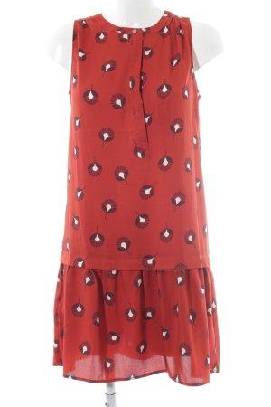 Loft A-Linien Kleid abstraktes Muster Casual-Look