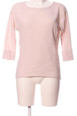 Loft Häkelpullover pink meliert Casual-Look
