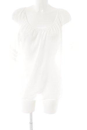 Loft Langarm-Bluse weiß Elegant