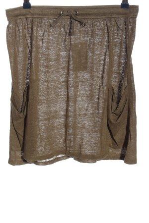 Loft Linen Skirt brown casual look