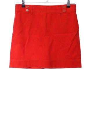 Loft Mini rok rood casual uitstraling