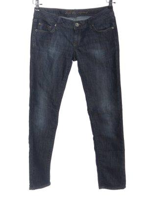Loft Straight-Leg Jeans blau Casual-Look