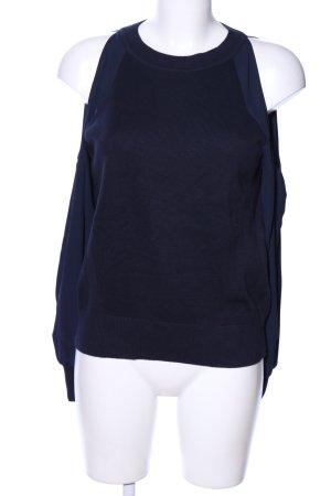 Loft Strickpullover schwarz-blau Casual-Look