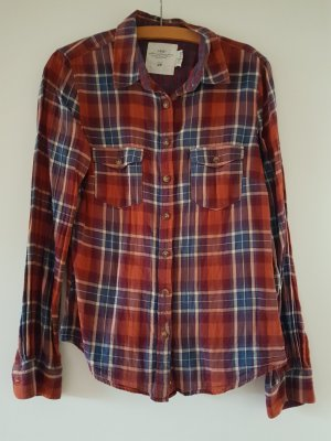 H&M L.O.G.G. Flannel Shirt multicolored