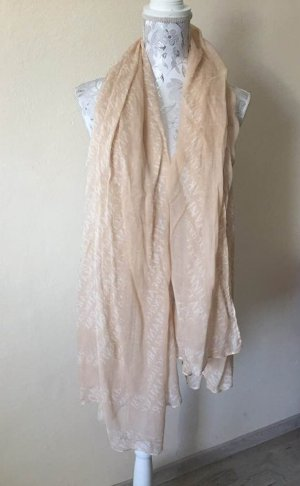 Armani Jeans Knitted Scarf nude-cream