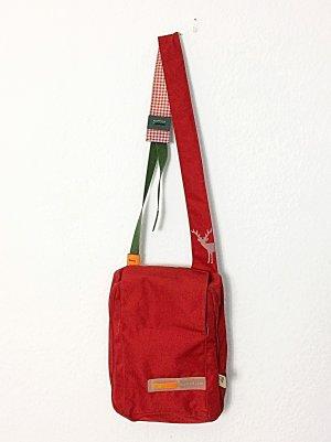 Logstoff Heimat Tasche Umhängetasche Laptoptasche rot