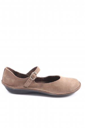 Loints of Holland Chaussures Mary Jane brun style décontracté