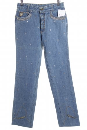Lois Jeans Straight Leg Jeans cornflower blue extravagant style