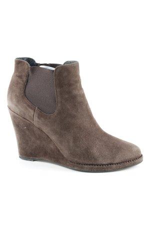 Lola cruz Ankle Boots graubraun Casual-Look