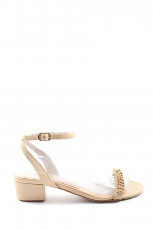 Lola cruz High Heel Sandaletten creme Elegant