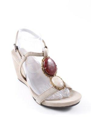 Lola cruz Wedges Sandaletten mehrfarbig Elegant