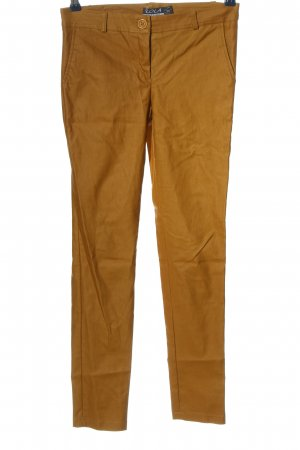 lola Lage taille broek bruin casual uitstraling