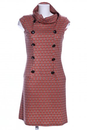 lola & liza Stretch jurk gestippeld patroon zakelijke stijl