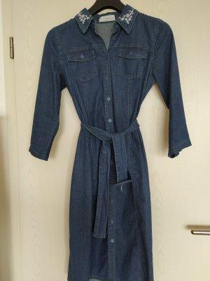 Himmelblau by Lola Paltinger Denim Dress blue cotton