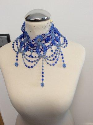 Lola Paltinger Dirndl Kropfkette / Trachtenschmuck  - blau