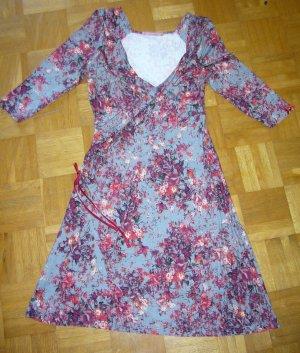 Himmelblau by Lola Paltinger Robe portefeuille multicolore viscose