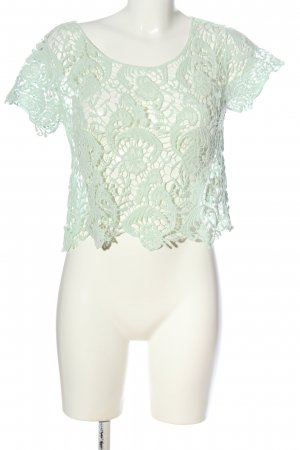 lola Lace Blouse green casual look