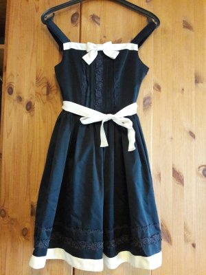 Lolita Petticoat Dress natural white-dark blue