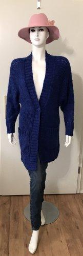 Lollys Laundry Veste en tricot bleu