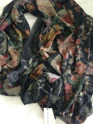 Gucci Écharpe à franges noir