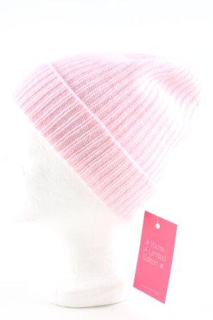Bonnet rose style décontracté