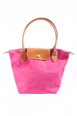 loncchamp Carry Bag pink-brown casual look