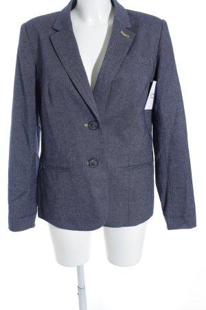Long-Blazer blau Casual-Look