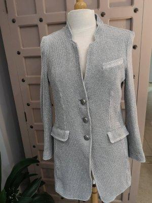 Long Blazer Jacket Langer Blazer Gr 42 Baumwolle