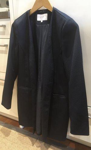 Vila Lange blazer donkerblauw Polyester