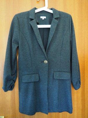 Costes Long Blazer dark grey polyester