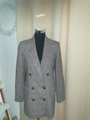Zara Blazer stile Boyfriend nero-grigio