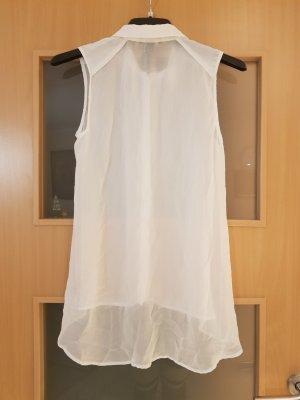 H&M Long Blouse white