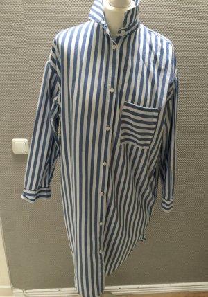 Long Bluse/bluse #blauweißgestreift